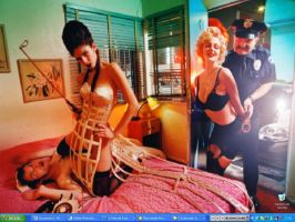 Marylin night shift by interferencia