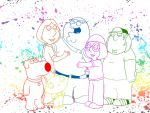 Family of Color aka Family Guy Wallpaper by Yusef-Muhammed