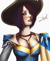 Royal Guard Fiora - The Grand Duelist by zhulikova