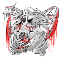 Silent Hill Chansey by DrawFag159381