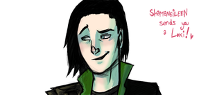 Loki Drawing Process Thingy by ShamsArts