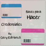 Bases para Hacer Credenciales by BeCreativePeople