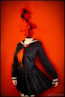 Celty Cosplay - Seifuku Ver. by RedStar-Sama
