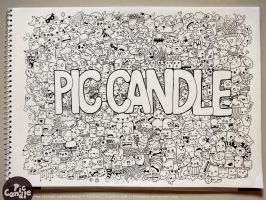 Pic Candle Doodle by PicCandle