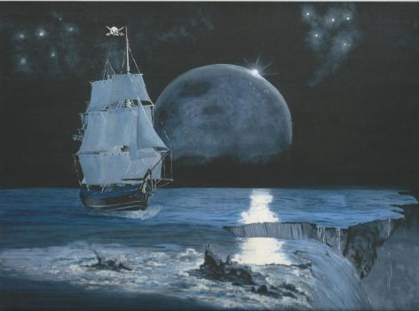 Ships in the night 2 by SarahColes