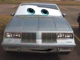 Cars 1985 Olds Cutlass by Steven304