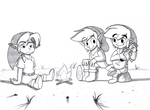 Let's gather around the campfire... by BlueLink
