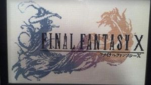 Final Fantasy X Cross Stitch by kairi-chan16