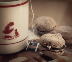 Tea and Macarons. by SuirisWhite
