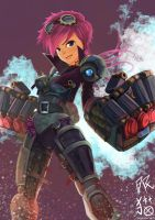VI-Frozen Fist by ALSWDeviant