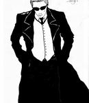 Albert Wesker's sunny day by Snakethoot
