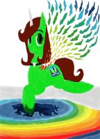 Make my Oc At Lake of crystal work 1 by daylover1313