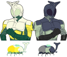 Kamen Rider Heaven and Earth by Combatkaiser