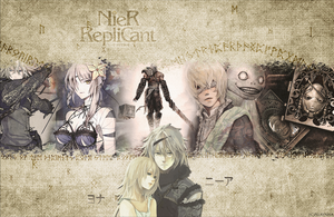 NieR - Wallpaper by AlaynnaEthellan