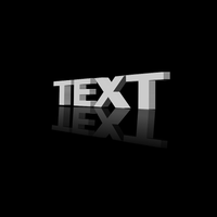 3D Text From A Perspective by TacoApple99