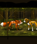fox and hound by timmy-gost