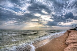Bright and Endless #7. Early morning HDR by Gone-Fish-N