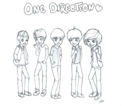 One Direction by StrawberrieCandie