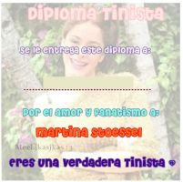 Diploma. tinista. hecho. por. mi. by:Meelcc by MeelComeCaramelo