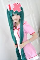 Vocaloid- Hatsune Miku Love Colored Ward cosplay by Lycorisa