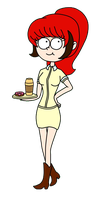 The Coffe Girl by Fany896