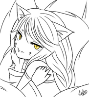 Ahri by ixh
