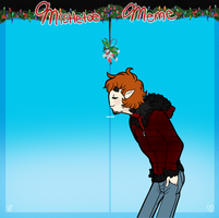 Malcolm Mistletoe Meme by Askthewerewolfprince
