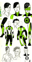 What if..? with Kyle Rayner by hipsterfarmgirl