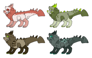 Monster creature adopts by LoserDoge