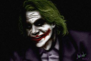 Joker again by Lucius-Ferguson