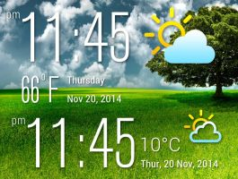 Acer Liquid OEM Widget 2 for xwidget by jimking