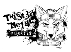 Twisted Metal FURRIES Logo by megawolf77
