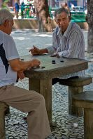 Draughts in Rio by 50mmFairy