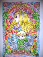 TLoz: Wind Waker Mural by FanChaosLevel3