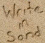 Write in Sand PSCS6 style by Autumns-Muse by Autumns-Muse