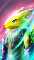 Renamon by Magnusmight