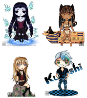Chibi Collection 1 by Blue-Fishies