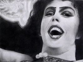 Dr. Frank-N-Furter Drawing 2 by Orangepeeel