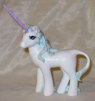 The Last Unicorn Custom Pony by mayanbutterfly