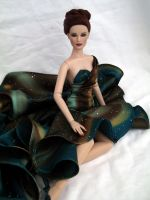 OOAK Doll Gown by DalilaDolls