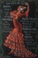 Spanish party menu commission by SamanthaJordaan
