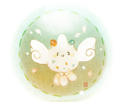Pokedexxy Challenge: Day 5 Togekiss c: by Teatime-Rabbit