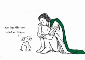 Loki Needed a Bunny by jedielf