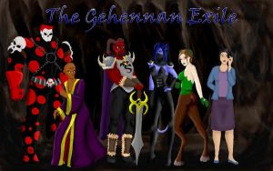 Gehenna Wallpaper by AlmightyOracle