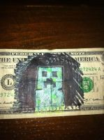 Creeper Dollar by ckrickett