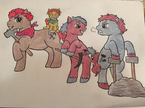 Coal Dust's Family by Noxxic-Starr