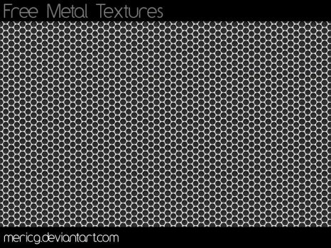 Free Metal Textures By MericG by MericG