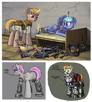 Wasteland Sketches 2 by Nukechaser24