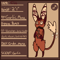 fibb refsheet by Densetsugin