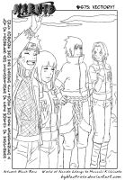 SasuSaku and NaruHina. The victory of the alliance by byBlackRose